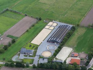 Grecon mangebodems | Luchtfoto Stal Le Horse